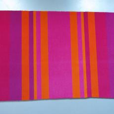 Stalen van wandkleden met verticale banen. - Diek Zweegman, Textielmuseum (registratiefoto), Koninklijke Van Besouw (Goirle), Joost van Roojen, Textielmuseum (registratiefoto)