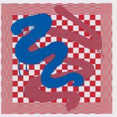 Weefontwerpen van droogdoeken 'Graffiti' - Textielmuseum, Viktor&Rolf