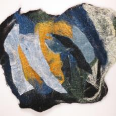 Publicatie 'Claudy Jongstra' met kunstwerk - Textielmuseum (registratiefoto), Claudy Jongstra, Irma Boom, Textielmuseum (registratiefoto), Textielmuseum (registratiefoto), Textielmuseum (registratiefoto)