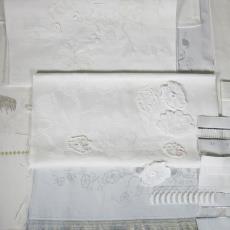 Proeven voor 'Koningsdamast' - Jan Taminiau, Textielmuseum, Textielmuseum (registratiefoto)