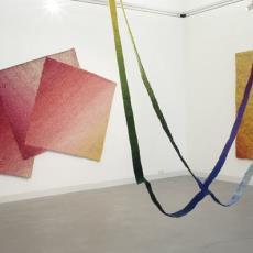 'Open driehoek in rechthoek' - Textielmuseum (Josefina Eikenaar), Textielmuseum (Josefina Eikenaar), Textielmuseum (Josefina Eikenaar), Herman Scholten