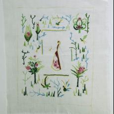 Titel onbekend - Cécile Dreesmann, Textielmuseum (registratiefoto)