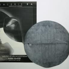 Flexicap 'cirkel' (zwart) - Textielmuseum (registratiefoto), Textielmuseum (registratiefoto), Maria Blaisse