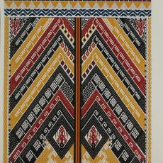 Ontwerpen voor geweven doeken van de installatie ... - Jennifer Tee, Textielmuseum (registratiefoto), Textielmuseum (registratiefoto), Textielmuseum, Textielmuseum (registratiefoto), Textielmuseum (registratiefoto), Textielmuseum (registratiefoto), Textielmuseum (registratiefoto)