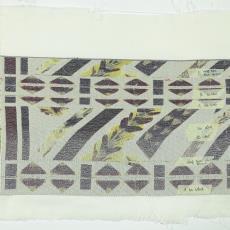 Weef- en kleurproeven voor de wandkleden .... - Textielmuseum (registratiefoto), Textielmuseum (registratiefoto), Jennifer Tee, Textielmuseum (registratiefoto), Textielmuseum, Textielmuseum (registratiefoto)