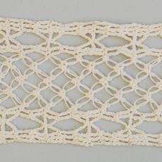 Gehaakte staal 'Passement tusschenzetsel' - G. Oldeman, Textielmuseum (registratiefoto)