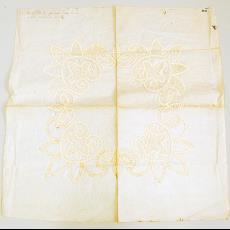 Patroon voor naaldkant - onbekend, Textielmuseum (registratiefoto)