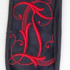 Embleem met monogram LT - Textielmuseum (registratiefoto), onbekend