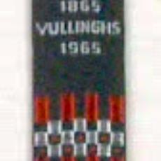 Gedenklint 'Vullinghs1865-1965' - Textielmuseum (registratiefoto), Veter- en Elastiekfabrieken Vullinghs' Band- (Heeze)