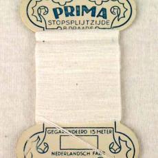 Stopsplijtzijde kaartjes Prima - Textielmuseum (registratiefoto), onbekend, Textielmuseum (registratiefoto)