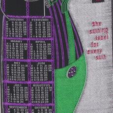 Geweven kalender 1964 Van Engelen & Evers, Heeze - Textielmuseum (registratiefoto), Van Engelen & Evers (Heeze)