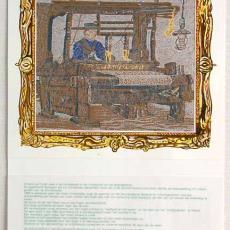 Kalender 'Wever' 1988 - Van Engelen & Evers (Heeze), Textielmuseum (registratiefoto)