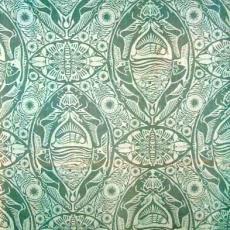 'Fauna', gordijn - Chris Lebeau, Textielmuseum (registratiefoto), Lange, Tommy de, Eindhovensche Trijpfabrieken Schellens & Marto