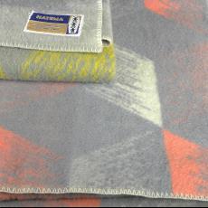 Dekens, gestreept - Helmondsche Textiel Maatschappij, Textielmuseum (registratiefoto)