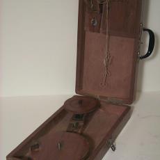 Kofferspinnewiel -