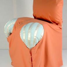 'Slaapkamerstoel' - Textielmuseum (registratiefoto), Annemiek Steenhuis, Textielmuseum (registratiefoto)