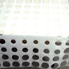 Tafellaken 'Non Cloth', wit linnen - Textielmuseum (registratiefoto), Gijs Bakker