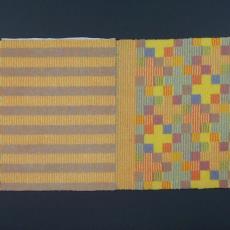 Tapijtontwerpen voor Paleis Noordeinde (nr. 30/39) - Textielmuseum (Frans van Ameijde / Joep Vogels), Textielmuseum (registratiefoto), Hetty Grefelman, Ria van Eyk, Van Besouw (Goirle)