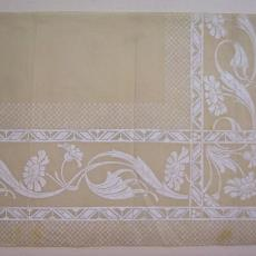 Ontwerptekening damast met motief van margrieten - Textielmuseum (registratiefoto), Linnen- en damastweverij A. Louwers (Meerveldhoven)