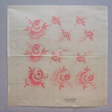 Ontwerptekening damast - Linnen- en damastweverij A. Louwers (Meerveldhoven), C.M. Pompe van Meerdervoort (Kitty), Textielmuseum (registratiefoto)