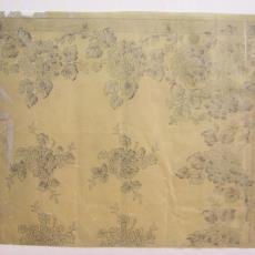 Ontwerptekening damast - Linnen- en damastweverij A. Louwers (Meerveldhoven), Textielmuseum (registratiefoto)