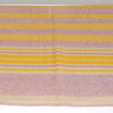 Deken, gestreept - onbekend, Textielmuseum (registratiefoto)