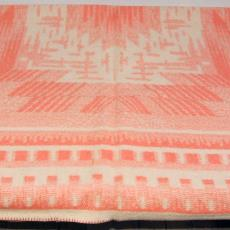 Deken, centraal motief - onbekend, Textielmuseum (registratiefoto)