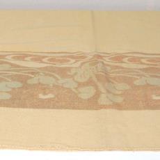 Deken met rand waterlelies - onbekend, Textielmuseum (registratiefoto)
