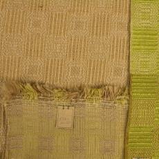 Gordijnstof geblokt, structuurweefsel - Handweverij en Ontwerpatelier K. v.d. Mijll Dekker (Nunspeet), Kitty van der Mijll Dekker (Fischer-), Textielmuseum (registratiefoto), Textielmuseum (registratiefoto)