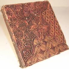 Batikstempel - Textielmuseum (registratiefoto)
