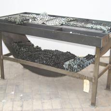 Kaartenmakerswerkbank met toebehoren - Textielmuseum (registratiefoto), onbekend, Textielmuseum (registratiefoto)