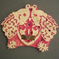 Drukblok Indonesië - Textielmuseum (registratiefoto)