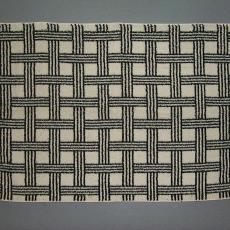 Badhanddoek 'Raster' - Elias Jorzolino (Neede), Mariëtte Wolbert, Textielmuseum (registratiefoto)