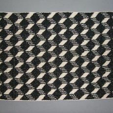 Badhanddoek blokken 'Rits Royal' - Textielmuseum (registratiefoto), Elias Jorzolino (Neede), Mariëtte Wolbert