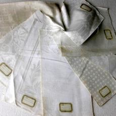 Damast stalen - Textielmuseum (registratiefoto), Linnenfabriek Wed. J. van Nuenen & Zoon (Zeelst / Meerveldhoven)