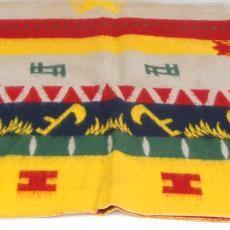 Deken met motieven - Textielmuseum (registratiefoto), onbekend, Textielmuseum (registratiefoto)