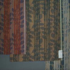 Meubelstof / gordijnstof 15540/3 col. 7, col. 5, 15540/4 col. 14 - Anne Mieke Kooper, Textielmuseum (registratiefoto), Gessner (Wädenswil)