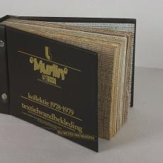 Stalenboek textiel wandbekleding 'Murlin' 1978-1979 - Zwartz (Oldenzaal), Textielmuseum (registratiefoto)