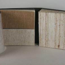 Stalenboek 'Murlin, muurlinnen' kollektie 1980-1981 - Textielmuseum (registratiefoto), Zwartz (Oldenzaal), Murlin Company (Oldenzaal), Textielmuseum (registratiefoto)