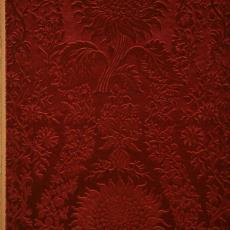 Trijp 'Zonnebloem', dessin 14, kleur L19807 - Textielmuseum (registratiefoto), Hengelosche Trijpweverij