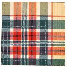 Ontwerptekening voor geruit tafellaken, dessin 3072, E no. 63 - Ben Schurink, Textielmuseum (registratiefoto)