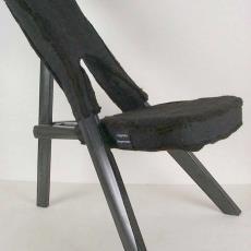 'Kasese Chair Felt' - JongeriusLab (Utrecht), Textielmuseum (registratiefoto), Textielmuseum (registratiefoto), Claudy Jongstra, Nót tom dick & harry, Hella Jongerius, Cappellini (Italië), Rep-air (Rijswijk)