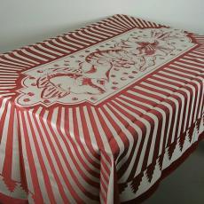 Tafellaken en servetten - Textielmuseum (registratiefoto), Nederlands Textielmuseum, Textielmuseum (registratiefoto), Willeke van Tijn