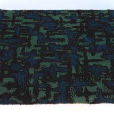 Tapijtstaal '2099/P3, 027/Saffier' - Stoomweverijen Besouw (Goirle), Textielmuseum (registratiefoto)