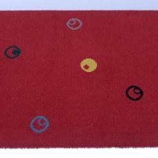 Tapijtstaal '3087/141, Celebes figuré' - Stoomweverijen Besouw (Goirle), Textielmuseum (registratiefoto)