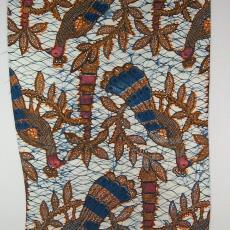Doek (imitatiebatik) - Ankersmit's Textielfabrieken (Deventer), Textielmuseum (registratiefoto)