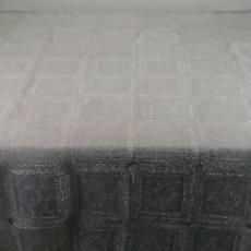 Siliconen tafelkleed met kantdessin - Textielmuseum (registratiefoto), Textielmuseum (registratiefoto), Hilde Sinke