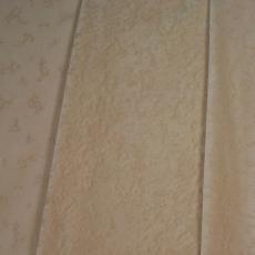 Ecru poolweefsel met tak- of koraalachtig dessin - Schellens Furnishing Textiles, Textielmuseum (registratiefoto)