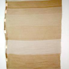 Project 'materiaal en structuur', staal 26 t/m 34 - Marian de Graaff, Nederlands Textielmuseum, Textielmuseum (registratiefoto)