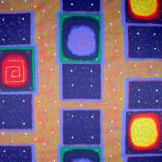 'Sirius' - Textielmuseum (registratiefoto), Textielmuseum (registratiefoto), Fuggerhaus, Beppe Kessler, Textielmuseum (registratiefoto)